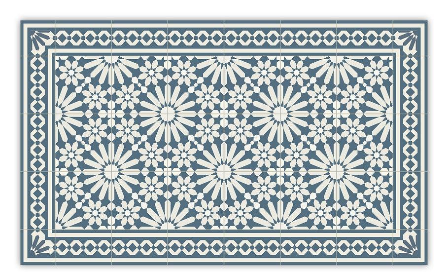 שטיח פיויסי דגם טנג'יר כחול 80/120 ב-30% הנחה