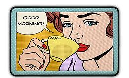 ארגונומי בוקר טוב תכלת - במגוון מידות