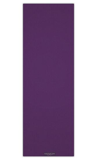 """שטיח יוגה בגוון סגול חלק במידה 60/180 ס""""מ"""
