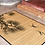 Thumbnail: Cranes - Bamboo Mat - Natural zoological pattern