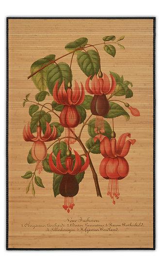 במבוק בוטני פרח אדום - במגוון מידות