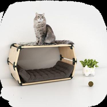 מיטה מודולרית לחתול וכלב