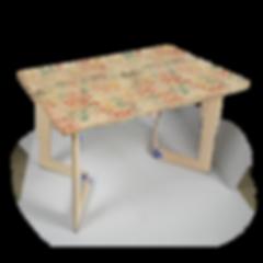 שולחן קאריה מודפס
