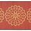 Thumbnail: Pimpernels - Bamboo Mat - Pink botanical pattern