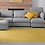 Thumbnail: Chelsea - Vinyl Floor Mat - Yellow graphic pattern