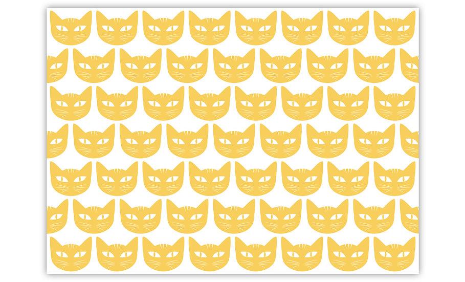 שטיח לחיות מחמד דגם תולי צהוב - במגוון מידות