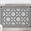 Thumbnail: Tangier - Vinyl Floor Mat - Black Moroccantiles pattern