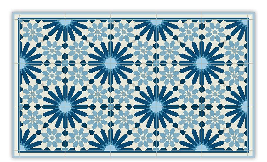 פיויסי מרקש כחול כהה - במגוון מידות