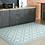 Thumbnail: Tangier - Vinyl Floor Mat - Light blue Moroccantiles pattern