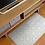 Thumbnail: Tangier - Vinyl Floor Mat - Light gray Moroccantiles pattern