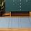 Thumbnail: Willow - Vinyl Floor Mat - Blue graphic pattern