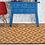 Thumbnail: Parquet - Bamboo Mat - Light brown geometric pattern