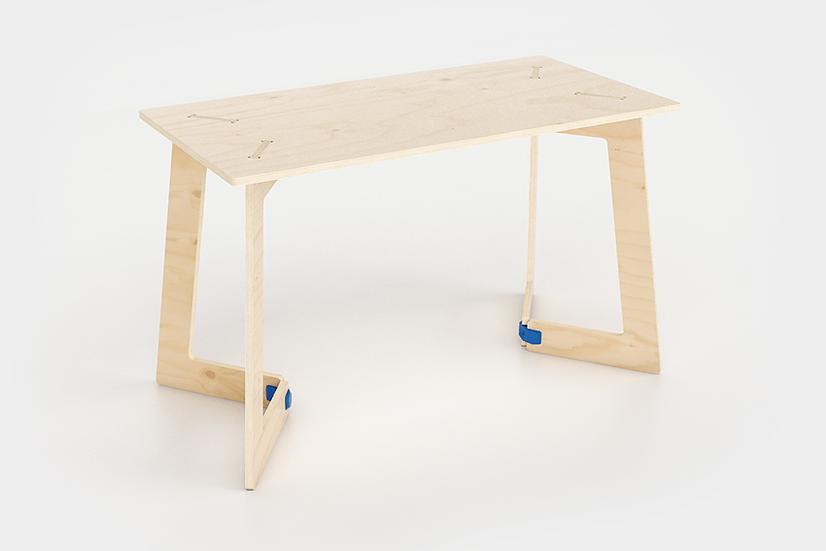"""שולחן עץ - דגם קאריה 118/74 ס""""מ"""