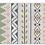 Thumbnail: Jordan - Vinyl Floor Mat - Green and blue ethnic pattern