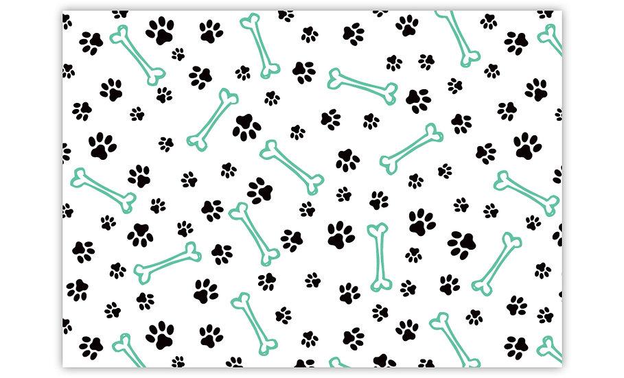 שטיח לחיות מחמד עצם כלב מנטה - במגוון מידות