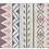 Thumbnail: Jordan - Vinyl Floor Mat - Purple ethnic pattern