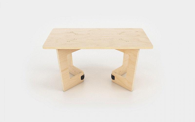 """שולחן קפה מלבני 90/60 ס""""מ"""