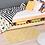 Thumbnail: Zigzag - Vinyl Floor Mat - Yellow graphic pattern