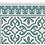Thumbnail: Tuscany - Vinyl Floor Mat - Green classic tiles pattern