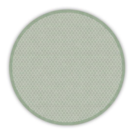 פיויסי עגול מרגו ירוק - במגוון מידות