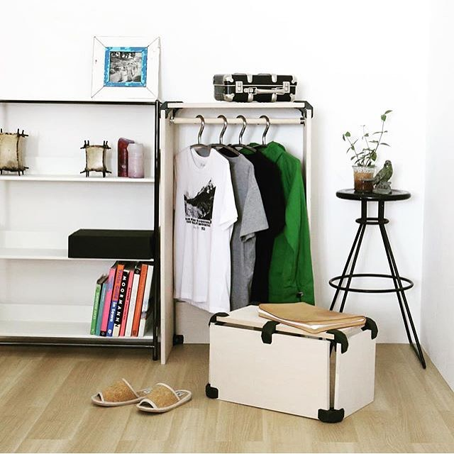אחסון בגדים מודולרי