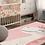 Thumbnail: Dinosaur - Vinyl Floor Mat - Pink fairy tale theme