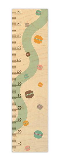 """מד גובה מעץ מקרונים -  120/30 ס""""מ"""