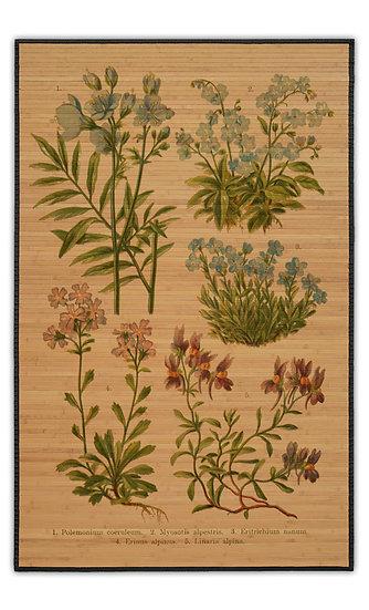במבוק בוטני ארבעה פרחים - במגוון מידות