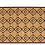 Thumbnail: Nutmeg - Bamboo Mat - Natural ethnic pattern