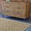 Thumbnail: Chelsea - Vinyl Floor Mat - Beige graphic pattern