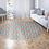 Thumbnail: Round Marrakesh - Vinyl Floor Mat - Orange Moroccan tiles pattern
