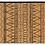 Thumbnail: Cinnamon - Bamboo Mat - Natural ethnic pattern