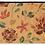 Thumbnail: Galilee - Bamboo Mat - Colorful botanical pattern
