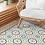Thumbnail: Morocco - Vinyl Floor Mat - Purple Moroccan tiles pattern