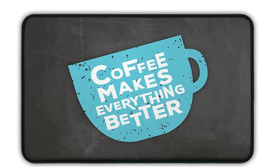 ארגונומי כוס קפה כחולה - במגוון מידות
