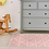 Thumbnail: Zigzag - Vinyl Floor Mat - Pink graphic pattern