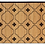 Thumbnail: Ginger - Bamboo Mat - Natural ethnic pattern