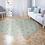 Thumbnail: Round Marrakesh - Vinyl Floor Mat - Sienna Moroccan tiles pattern