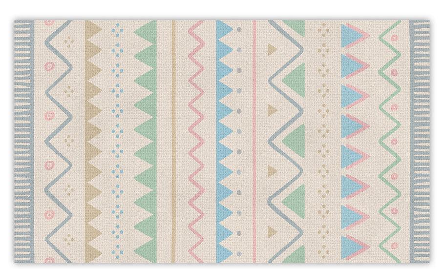 שטיח פעילות דגם אריאל לילדים - במגוון מידות