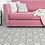 Thumbnail: Tangier - Vinyl Floor Mat - Dark gray Moroccantiles pattern