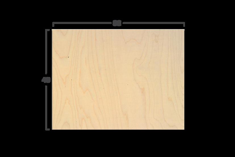 """לוח עץ במידה 40/60 ס""""מ"""