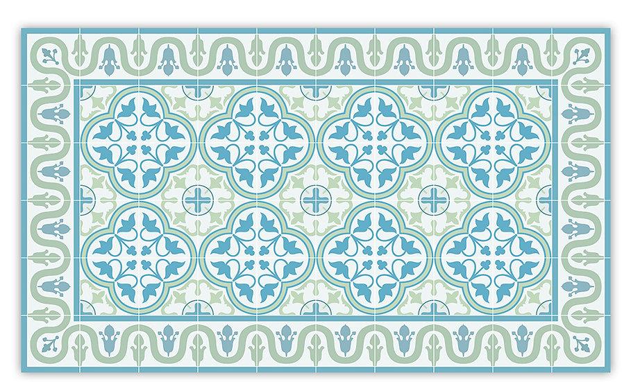 שטיח פיויסי דגם אנדריאה אקווה 70/120 ב-30% הנחה