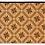 Thumbnail: Wood Flowers - Bamboo Mat - Natural geometric pattern