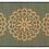 Thumbnail: Pimpernels - Bamboo Mat - Green botanical pattern