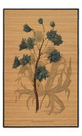 במבוק בוטני פרח כחול-2 - במגוון מידות
