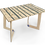 "Thumbnail: שולחן עץ מודפס - דגם קאריה עצים כחול 118/74 ס""מ"