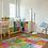 Thumbnail: Toy Blocks - Vinyl Floor Mat - Colorful playful theme