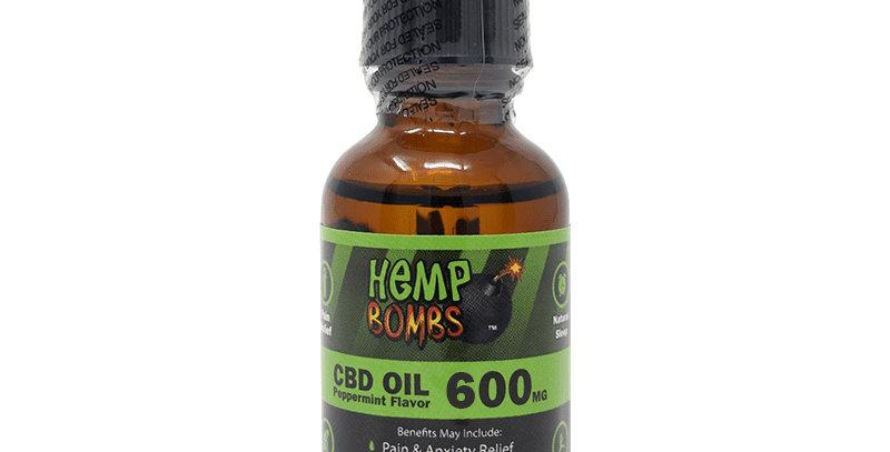600mg CBD OIL-Peppermint Flavor
