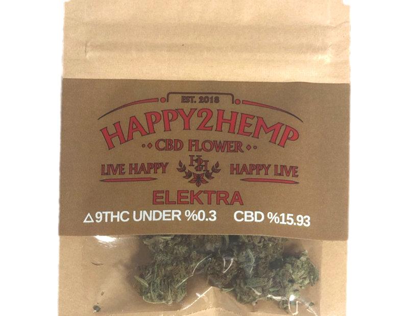 CBD Flower Gram Bag