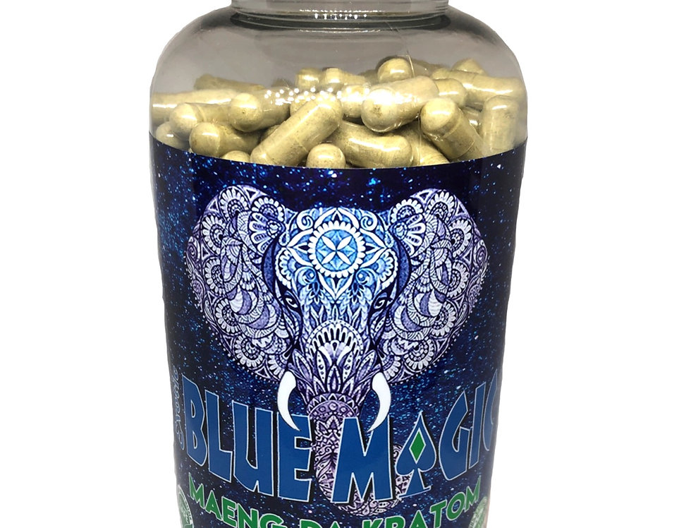 Blue Magic Maeng Da Kratom (500ct)